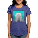 Afghan Hound Womens Tri-blend T-Shirt