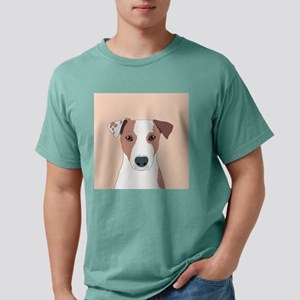 Jack Russell Terrier Mens Comfort Colors Shirt
