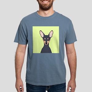 Miniature Pinscher Mens Comfort Colors Shirt