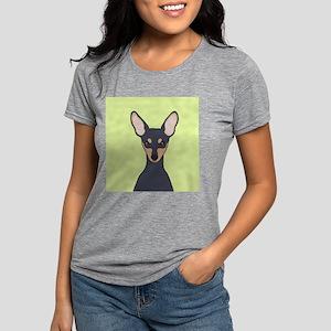 Miniature Pinscher Womens Tri-blend T-Shirt