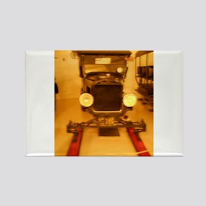1926 Model T Snowmobile Rectangle Magnet
