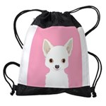 Chihuahua Drawstring Bag