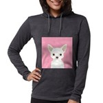 Chihuahua Womens Hooded Shirt