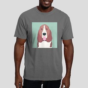 Basset Hound Mens Comfort Colors Shirt