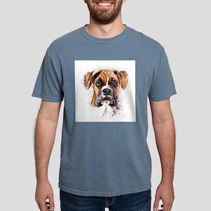Boxer Painting Mens Comfort Colors Shirt