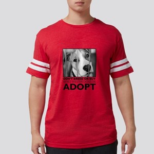 Adopt Puppy Mens Football Shirt