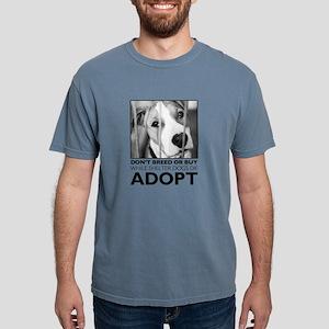 Adopt Puppy Mens Comfort Colors Shirt