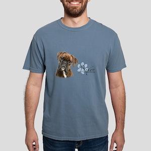 Boxer Puppy Mens Comfort Colors Shirt
