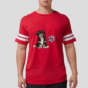 Havanese Puppy Mens Football Shirt