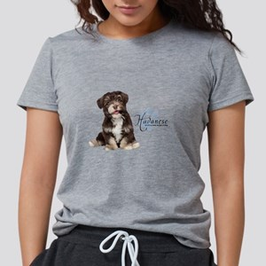 Havanese Puppy Womens Tri-blend T-Shirt