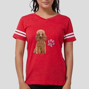 Poodle Womens Football Shirt