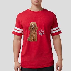 Poodle Mens Football Shirt