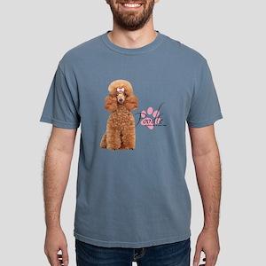Poodle Mens Comfort Colors Shirt