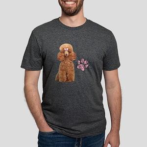 Poodle Mens Tri-blend T-Shirt