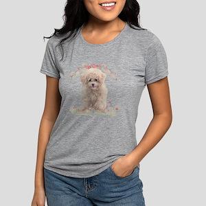 flowers Womens Tri-blend T-Shirt