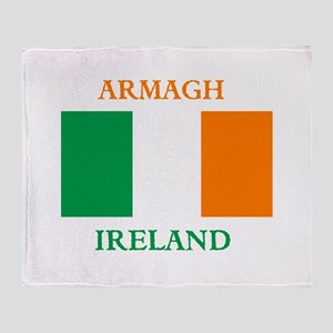 Armagh Ireland Throw Blanket