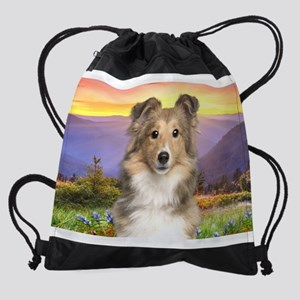 meadow Drawstring Bag