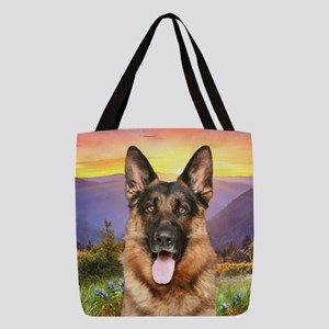 meadow Polyester Tote Bag