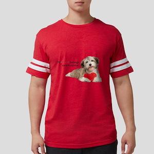 heart Mens Football Shirt