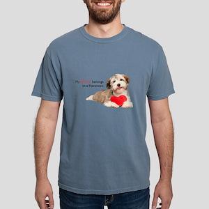 heart Mens Comfort Colors Shirt