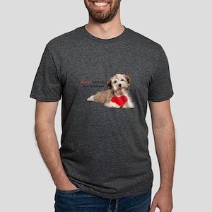 heart Mens Tri-blend T-Shirt