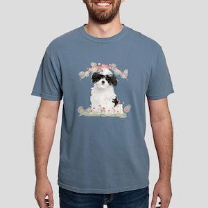 flowers Mens Comfort Colors Shirt