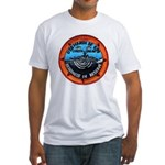 USS MARSH Fitted T-Shirt