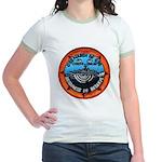 USS MARSH Jr. Ringer T-Shirt