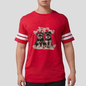 flowers Mens Football Shirt