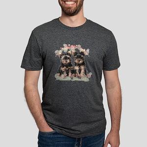 flowers Mens Tri-blend T-Shirt