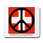 Peace flag Mousepad