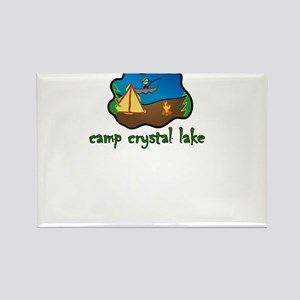 camp crystal lake truck stop vacation tee Rectangl
