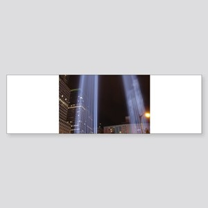 The Twin Towers Bumper Sticker