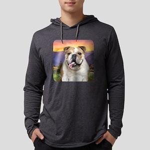 Bulldog Meadow Mens Hooded Shirt