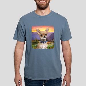 Chihuahua Meadow Mens Comfort Colors Shirt