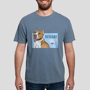 Aggressive Snuggler Mens Comfort Colors Shirt