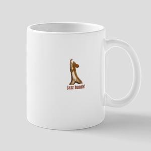 Jazz Hands dancing Squirrel dance number Mug