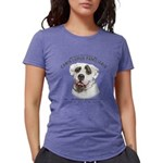 Mans Best Friend Womens Tri-blend T-Shirt