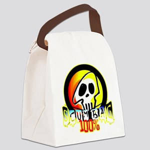 100 Percent Scum Bag Canvas Lunch Bag