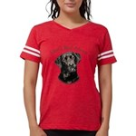Mans Best Friend Womens Football Shirt
