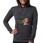 Must Love Doxies Womens Hooded Shirt