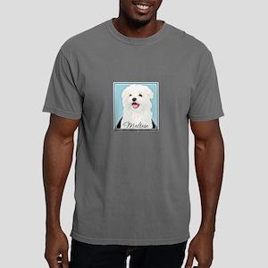 Cute Maltese Mens Comfort Colors Shirt