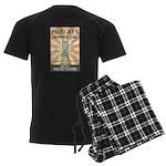 Paleo Jays Smoothie Cafe Men's Dark Pajamas