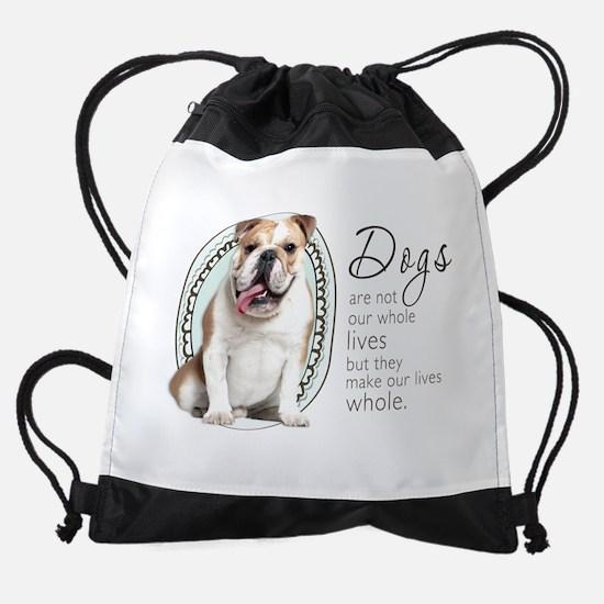 wholelives.png Drawstring Bag