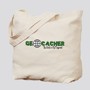 Geocacher...The World is My Playground Tote Bag
