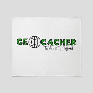Geocacher...The World is My Playground Stadium Bl
