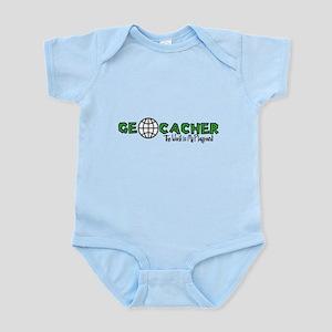 Geocacher...The World is My Playground Infant Body