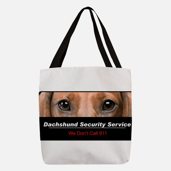 security.png Polyester Tote Bag