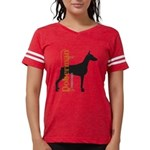 grungesilhouette.png Womens Football Shirt
