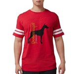 grungesilhouette.png Mens Football Shirt